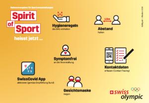 Rahmenvorgaben für Sportveranstaltungen